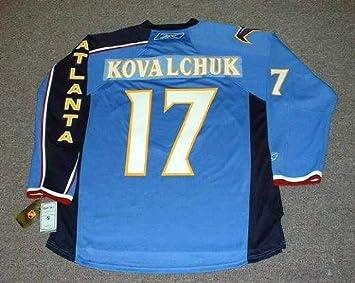 ILYA KOVALCHUK Atlanta Thrashers REEBOK RBK Premier Home NHL Hockey Jersey 2da0edf53