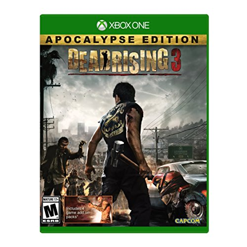 Dead Rising 3 Apocalypse for Xbox One rated M - Mature