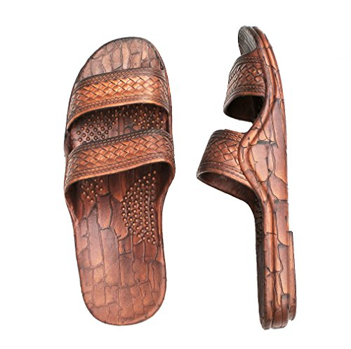 Men and Women Sandals Classic Black Sandal Brown Brown Hawaii Jesus For Style Slipper HawaiiImperial or Teen zwdxPq1xv