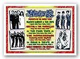 (14x20) Dennis Loren Motown Revue Whisky-A-Go-Go Los Angeles 1967 Music Poster Print