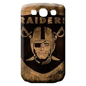 samsung galaxy s3 cell phone carrying shells Plastic covers Snap On Hard Cases Covers oakland raiders