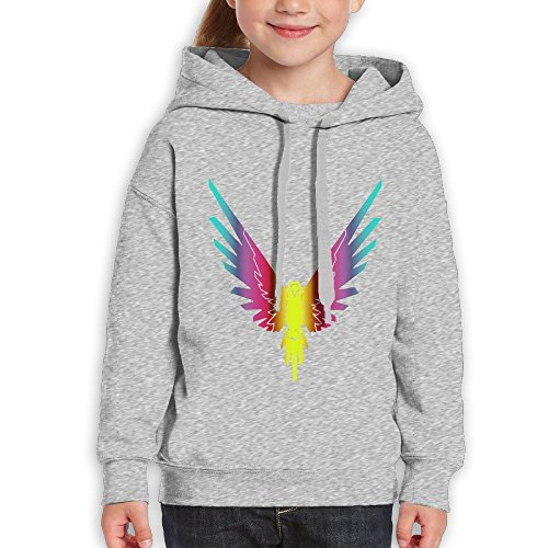 Syracuse Embroidered Long Sleeve (Mary J. Taylor Youth Customized Logan Paul Fashion Parrot Girls Long Sleeve Hoodies)