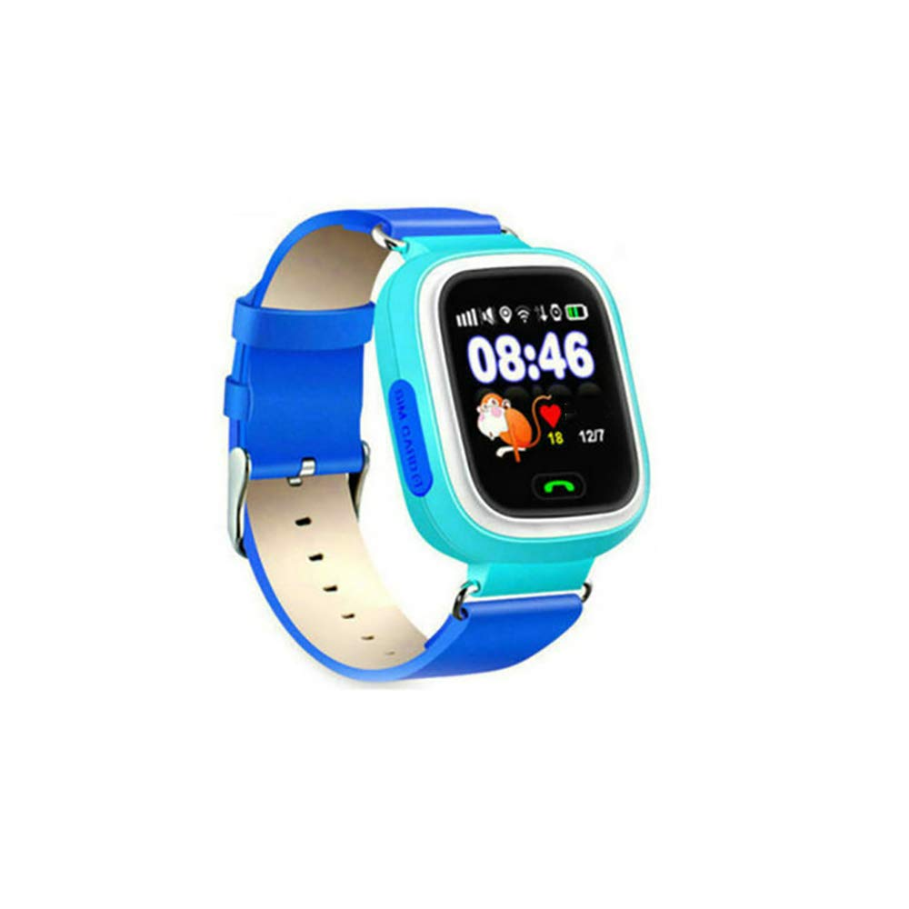 Amazon.com: DFCHT Q90 GPS Childrens Smart Watch Mobile ...