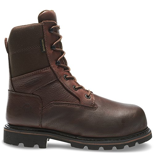 Ultra Insulation Steel Toe Boots - Wolverine Men's Novack 8 Inch Comp Toe Boot, Brown, 11 M US