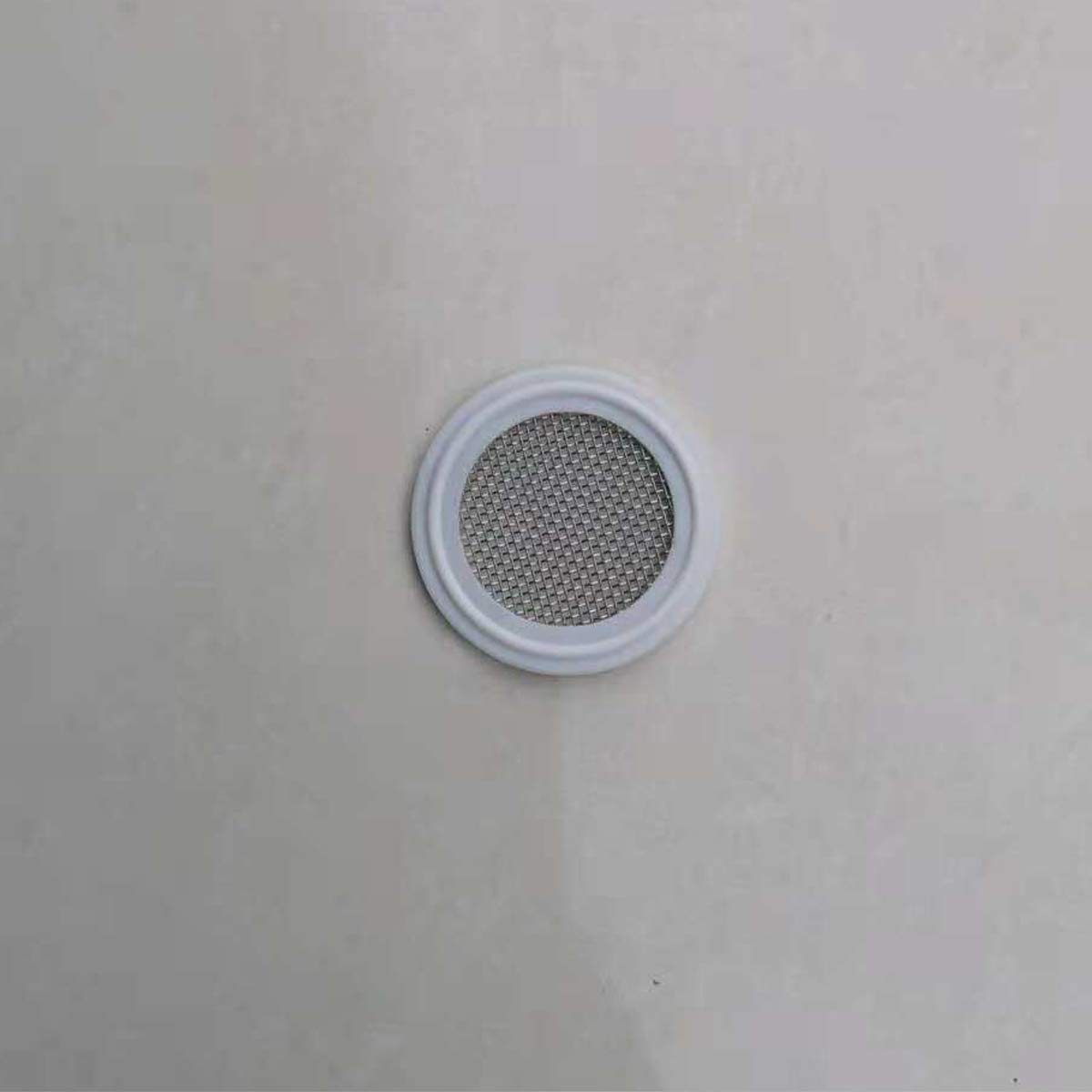1.5 PTFE Sanitary Gasket with Stainless Steel Screen 30 Mesh