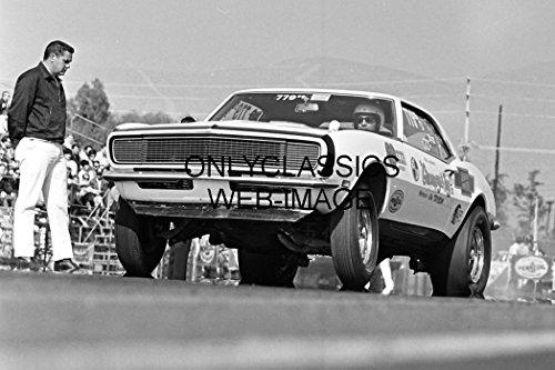 OnlyClassics 1968 Bill Jenkins Chevy Camaro Drag CAR AUTO Racing Winter Nationals 8X12 -