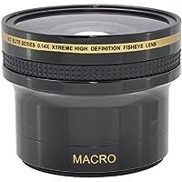 Super Xtreme 0.14x Hi Def Fisheye Lens for Nikon D3300 D5500 D5300 (52mm Compatible)