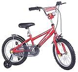 Merax Children's Bike with Training Wheels 16 Inch (Red)