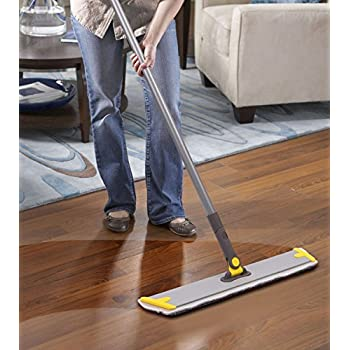 Amazon Commercial Grade Microfiber Floor Dust Mop With A