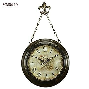 Collector Continental Baroque antique Horloge murale American ...