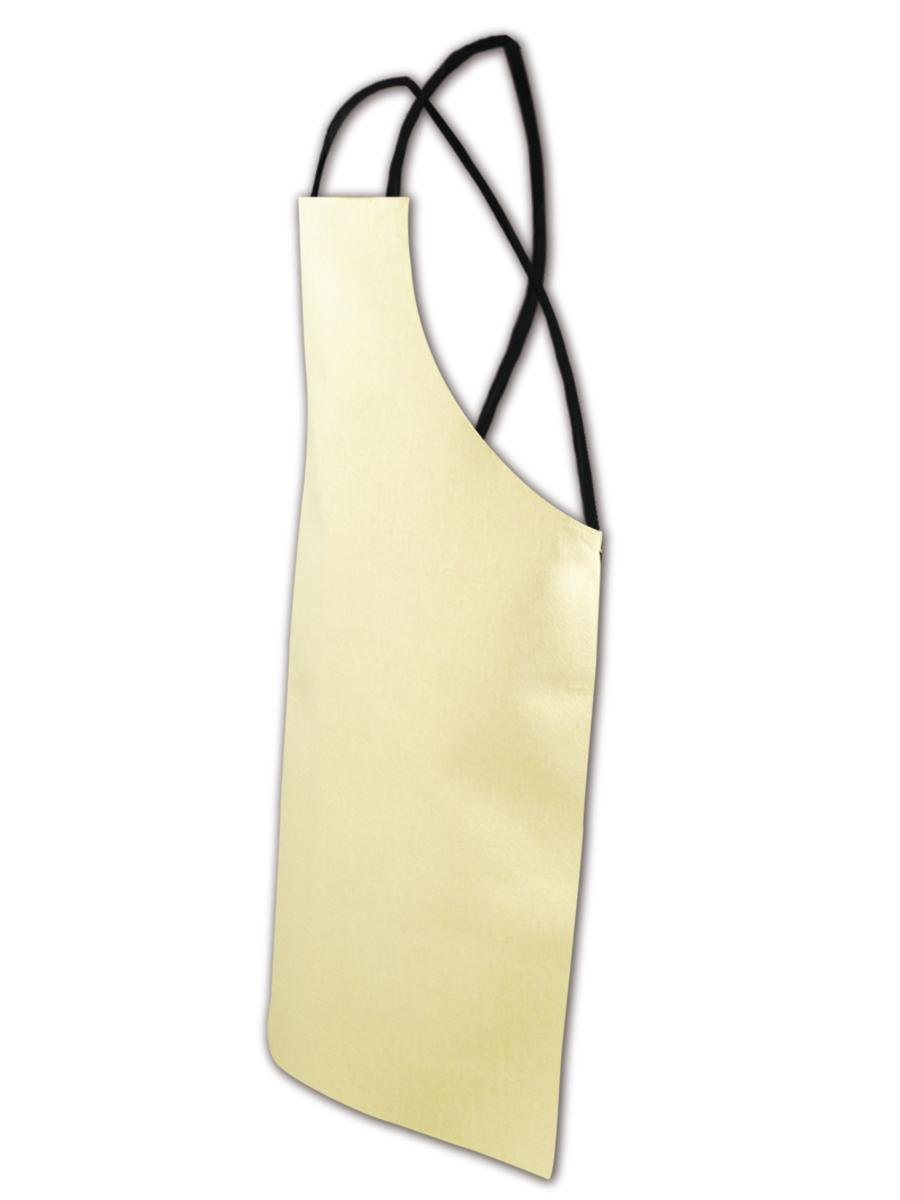 Magid A24X36KV Kevlar Bib Style Welding Apron, 36'' Length x 24'' Width, Yellow