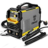 ARC Welder - DEKOPRO 110/220V MMA Welder,160A ARC Welder Machine IGBT Digital Display LCD Hot Start Welder with Electrode Holder,Work Clamp, Input Power Adapter Cable and Brush