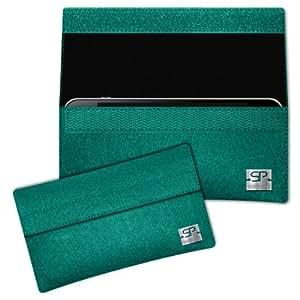 SIMON PIKE Cáscara Funda de móvil NewYork 1 esmeralda Acer DX900 Fieltro de lana