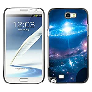Planetar® ( Magical Resplendence Of The Skies ) SAMSUNG Galaxy Note 2 II / N7100 Fundas Cover Cubre Hard Case Cover