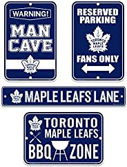 Toronto Maple Leafs Four Pack Fan Sign Set