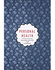 Personal Health Record Keeper and Logbook: Daily Wellness Journal Tracking Management, Medical Log book with Daily Weight, Symptom, Pain, Fatigue, Anxiety, Mood Tracker with Inspirational Quotes, Doctors/Clinic appointments and More!
