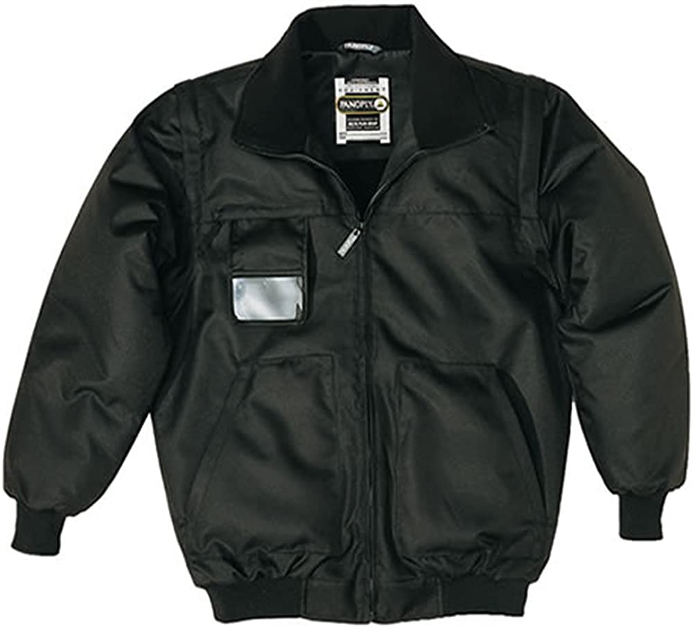 Panoply Mens Reno Bomber Jacket Security Doormen Coat