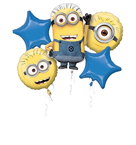 Anagram Despicable Me Minions Balloon Birthday Party Favor