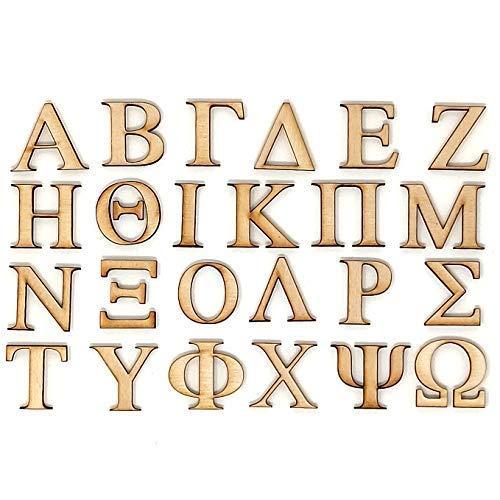 """2"""" Decorative Wooden Greek Letter (PI)"""