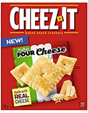 Cheez-It Baked Snack Crackers Italian Four Cheese Flavour 200 Gram