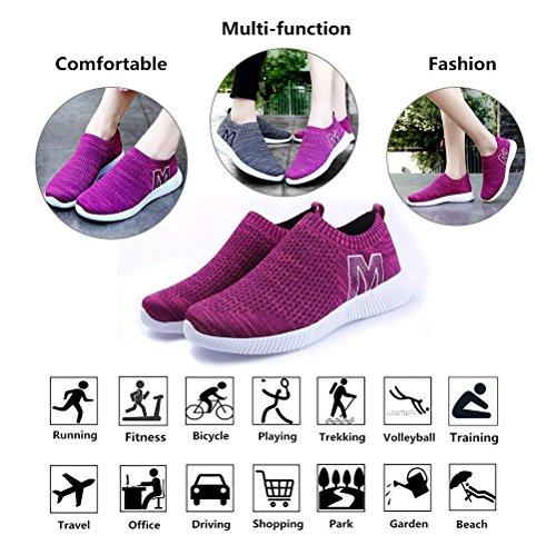43 En Sport De Entraînement Chaussures Respirant 34 1 Fitness Course Rose Casual Femme Chaussure Homme Running Mesh Baskets Outdoor Mode qxRXTT