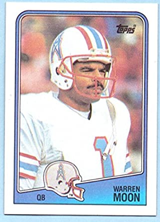 Warren Moon 1988 Topps  103 - Houston Oilers at Amazon s Sports ... 298060939