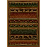 BEARWALK Rug from the GENESIS Collection (63 x 90) by United Weavers