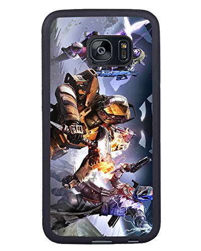S7 Edge TPU Phone Case,Destiny Popular Gifts Case Cover for Samsung Galaxy S7 Edge (Black)