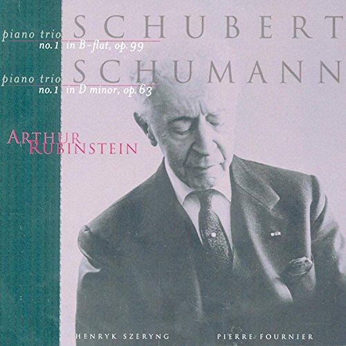 Rubinstein Collection, Vol. 76: Schubert Piano Trio No. 1 / Schumann Piano Trio No. 1