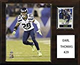 NFL Seattle Seahawks Earl Thomas Player Plaque, 12 x 15-Inch