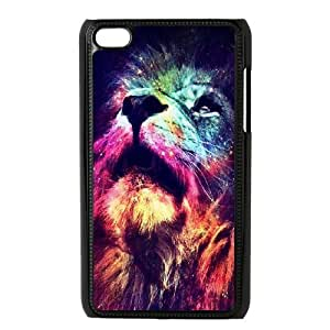 Lion for Apple iPod Touch 4 Custom Phone Case QWE387547