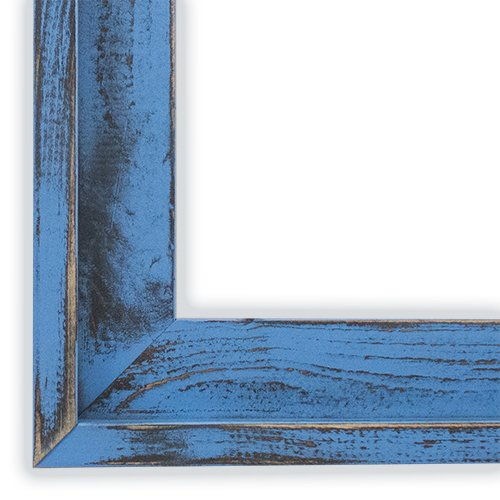 Farm House Spa Blue Picture Frame-Solid Wood, 6x9 by The Rusty Roof (Image #2)