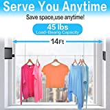 JOOM Retractable Clothesline Indoor Outdoor Heavy