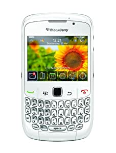 Blackberry Curve 8520 Unlocked GSM OS 5.0 Cell Phone w/ Touch-Sensitive Optical Trackpad and QWERTY Keyboard - White