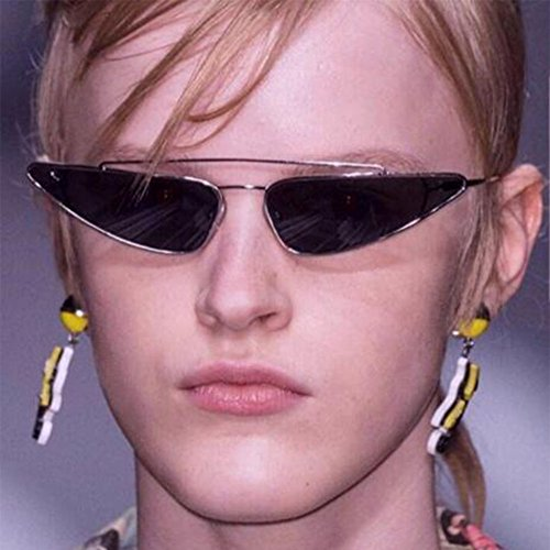 Ojo gato Anti Mujer Lente de Rock Escoger de C6 UV Del Marco Gafas sol Gota Púrpura Metal Oro Estilo agua de Hzjundasi Gafas Retro Pequeña Color Moda 6 para q5Z8xnTt