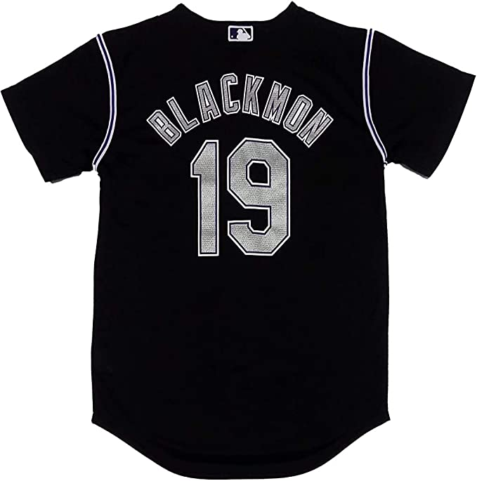 Outerstuff Charlie Blackmon #19 Colorado Rockies Youth Player Name and Number T-Shirt