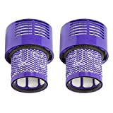 TOOGOO Washable Filter Unit for Dyson V10 SV12 Cyclone Animal Absolute Total Clean Vacuum Cleaner (Pack of 2)