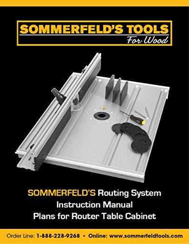 Sommerfeld's Router Table Project Plans (Router Table Plans)