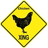 Chicken Xing Sign