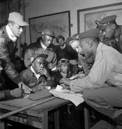 Tuskegee Airmen Poster Photo WWII U.S. Military Posters Photos