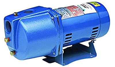 Goulds JRS5 Shallow Well Jet Pump, 1/2 HP, 1 PH