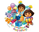 Dora the Explorer Edible Cupcake Toppers Decoration