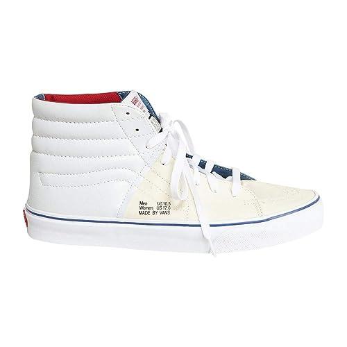 scarpe vans in tessuto bianche
