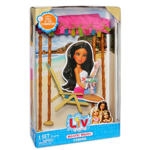 Liv - Spring Break Accessories - Making Waves Cabana (Liv Dolls Accessories)