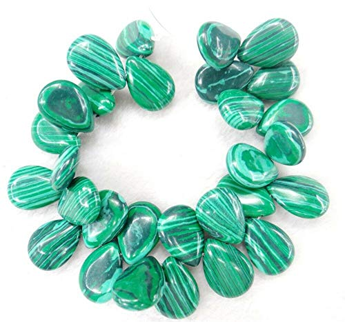 (1814mm Natural Water Drop Shape Jewelry Making Loose GEM Beads Strand 20mm (Colour - NO.15))