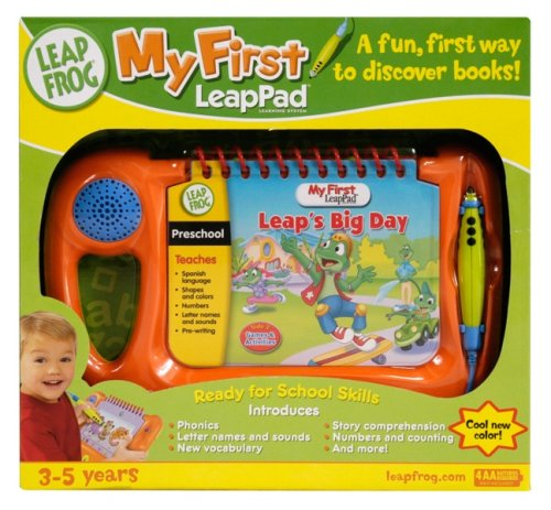 LeapFrog My First LeapPad Orange