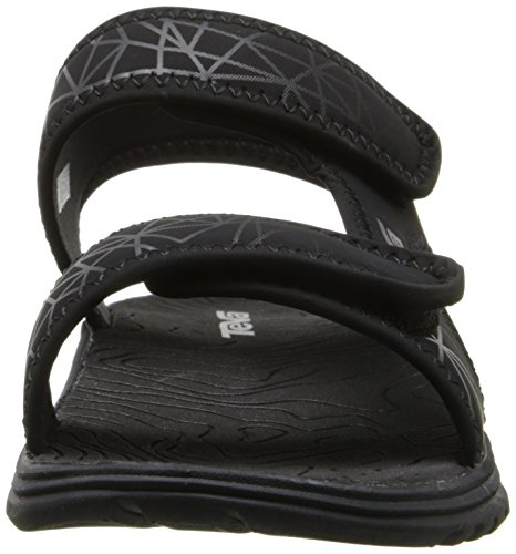 Grey Big Little Sport Toddler Kid Tidepool Print Sandal t Teva Black Kid nTfgqz