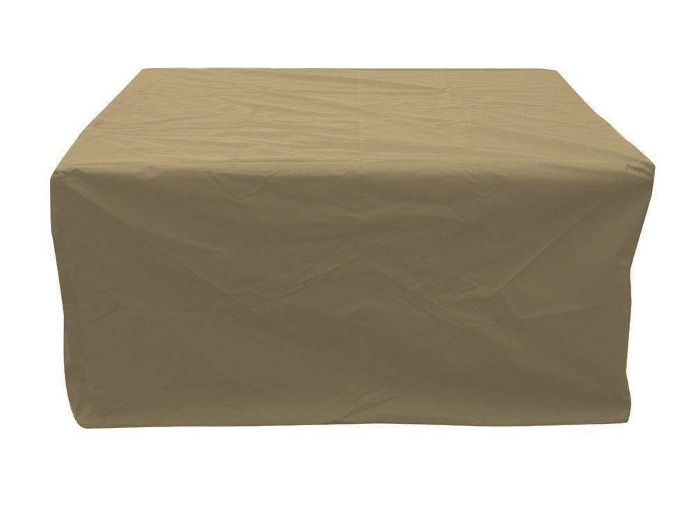 The Outdoor GreatRoom Company Tan Linear Cover for VNG1242 Fire Pit Table by The Outdoor GreatRoom Company