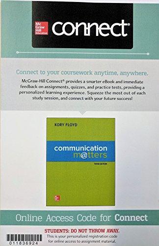Communication Matters Connectplus