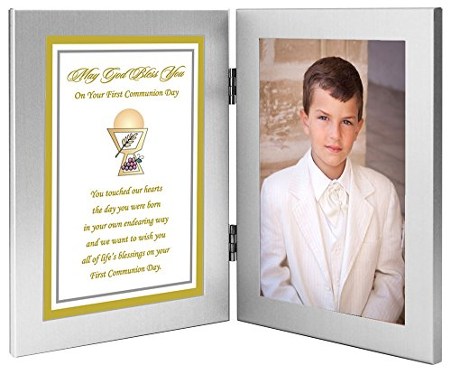 Poetry Gifts First Communion Gift for Daughter or Son from Parents - Add Photo -